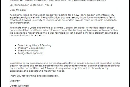 Basketball Coaching Resume Cover Letter - Reentrycorps