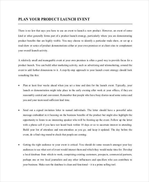 7+ Event Plan Template - Free Sample, Example, Format Download