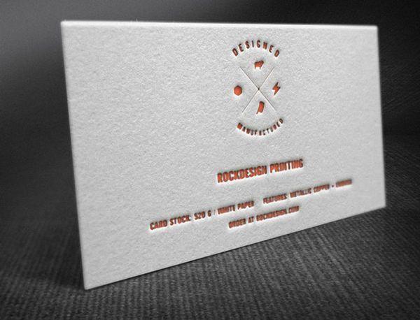 42+ Affordable Letterpress Business Cards | Free & Premium Templates