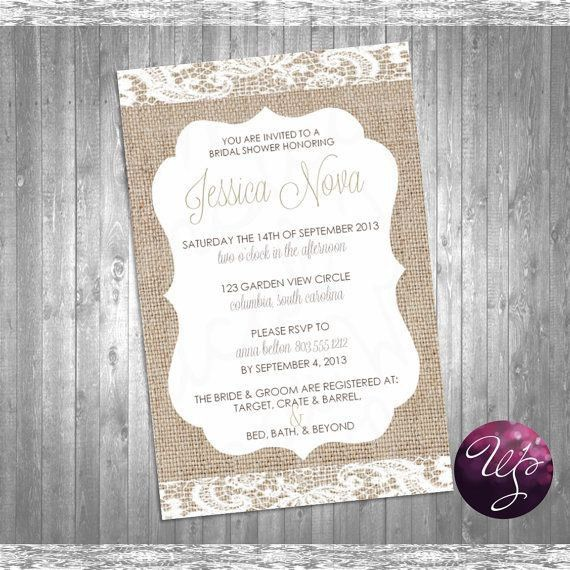 Vista Print Bridal Shower Invitations | badbrya.com