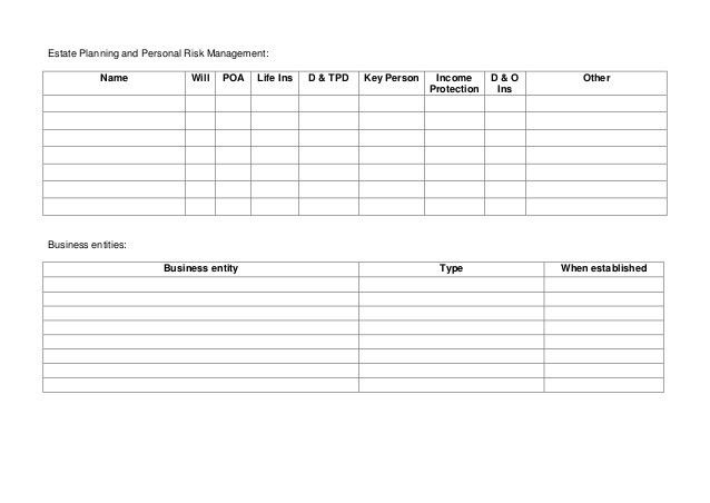 20160702 Succession Planning Information template