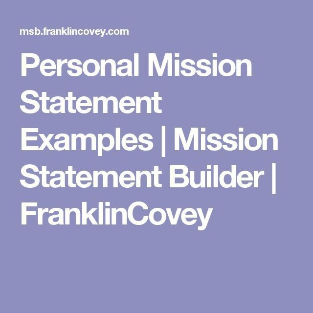 Best 25+ Mission statement examples ideas on Pinterest | Writing a ...
