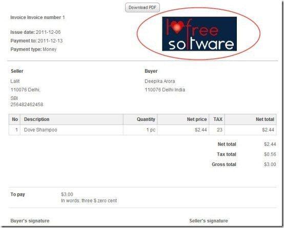Prepare Online Invoices With Invoice Ocean