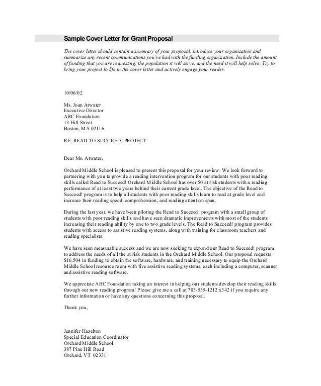 Proposal Request Letter. 12 September 2006 3; 4 2 Proposal .