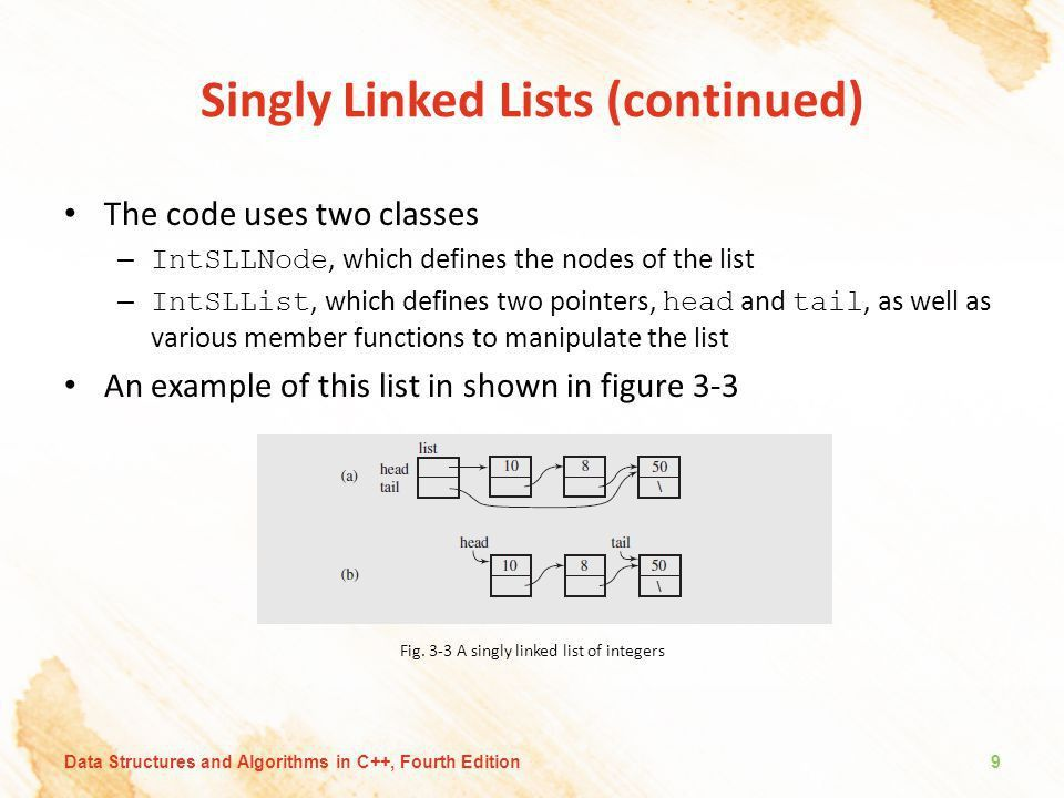 Chapter 3: Linked Lists. - ppt download