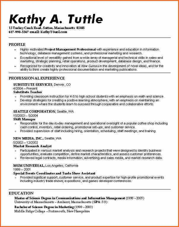 8+ resume examples for college students - Budget Template Letter
