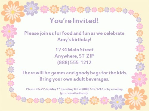 Coolest Birthday Party Invitation Template http://www ...