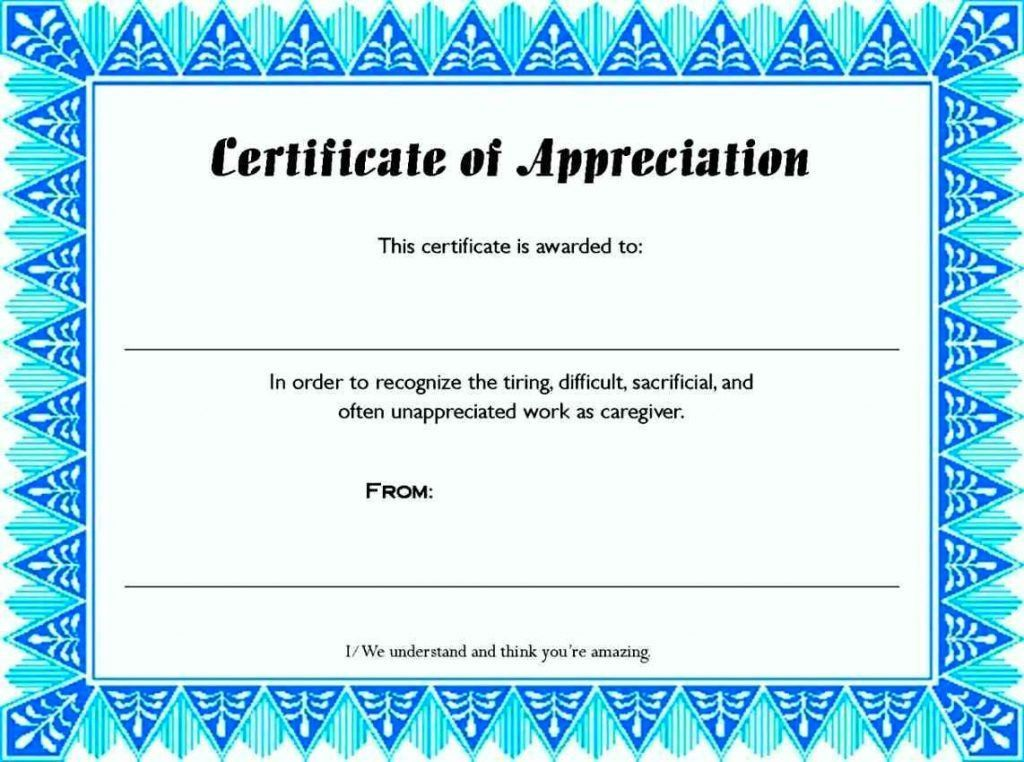 Award Paper Template How To Make A Thank You Card In Word Audit ...