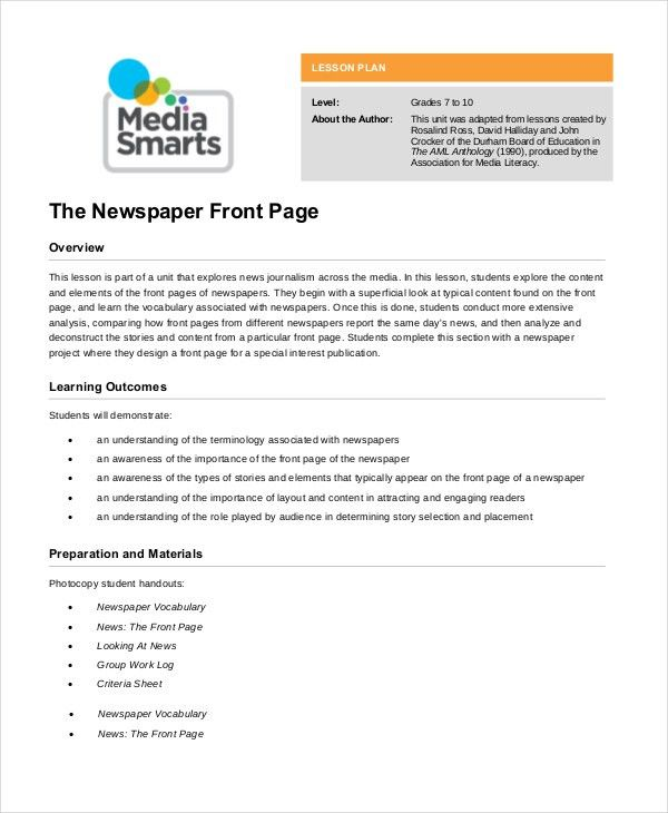 Newspaper Template - 9+ Free Word, PDF Documents Download | Free ...