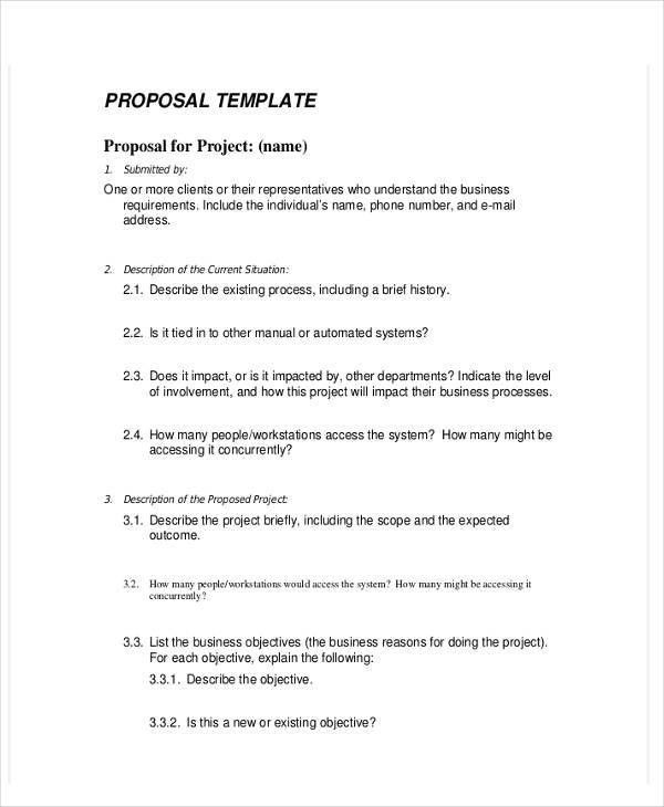 7+ Business Proposal Templates in Word | Free & Premium Templates