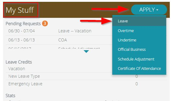 How to File for a Leave Application – Sprout Solutions
