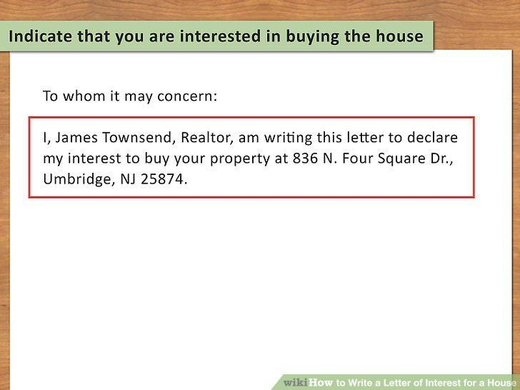 3 Ways to Write a Letter of Interest for a House - wikiHow