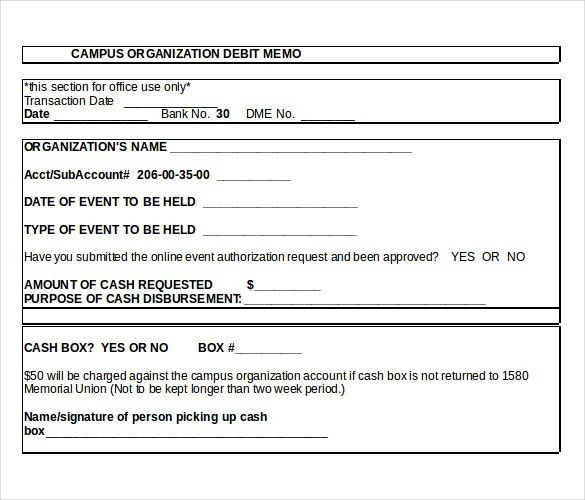 Debit Memo Template – 12+ Free Word, Excel, PDF Documents Download ...