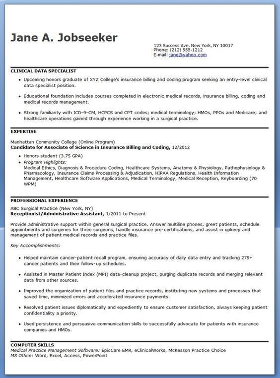 data collection specialist cover letter