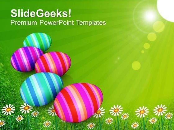 Origin Of Spring Festival Happy Easter Day PowerPoint Templates ...