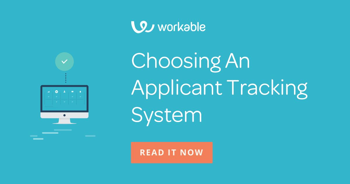 Choose the Best Applicant Tracking System for your Growing ...