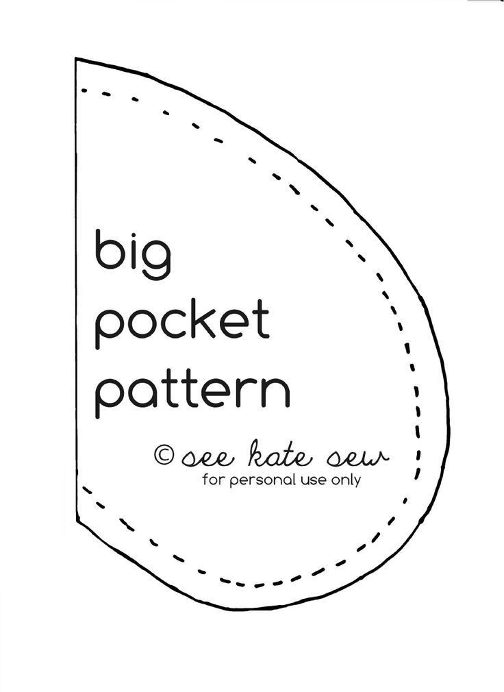 12 best Sewing- Pocket patterns images on Pinterest   Sewing ideas ...