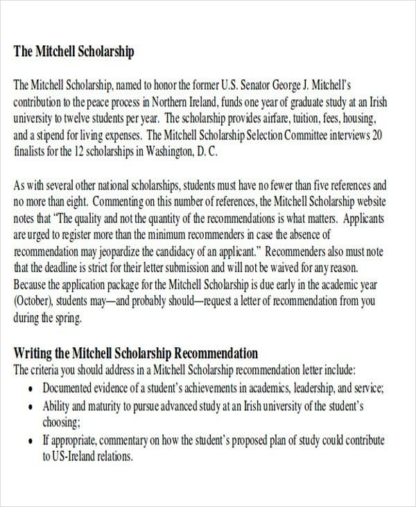 9+ Sample High School Recommendation Letter - Free Sample, Example ...