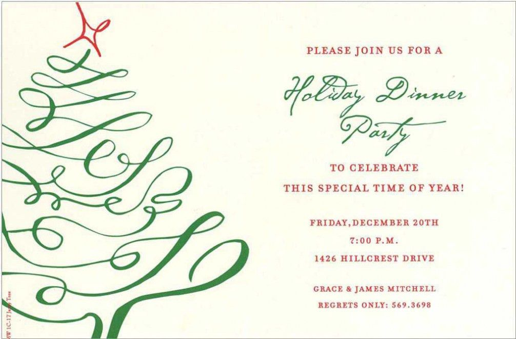 Company Christmas Party Invitations 2017 | THEWHIPPER.COM