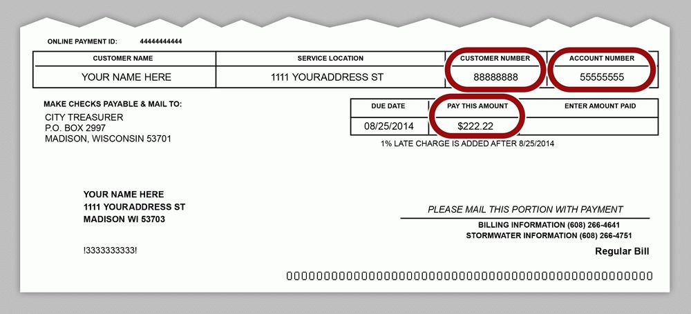 Online Bill Payment - Water Utility - City of Madison, Wisconsin
