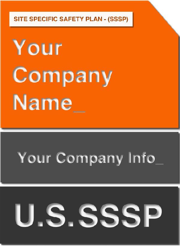 Site Specific Safety Plan (SSSP) Template | OSHA Safety Manual