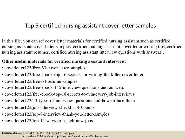 letter of resume resume cover letter certified nursing assistant ...