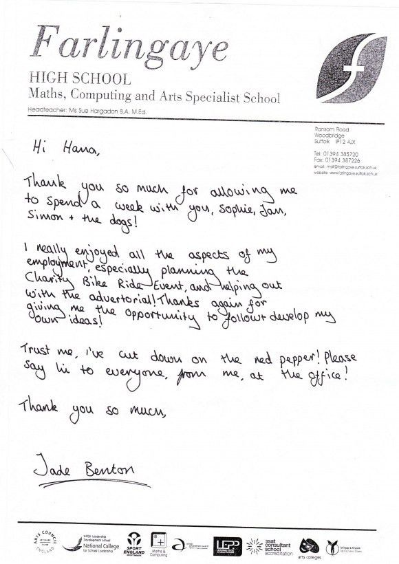 How To Write A Work Experience Letter Year 10 - Compudocs.us