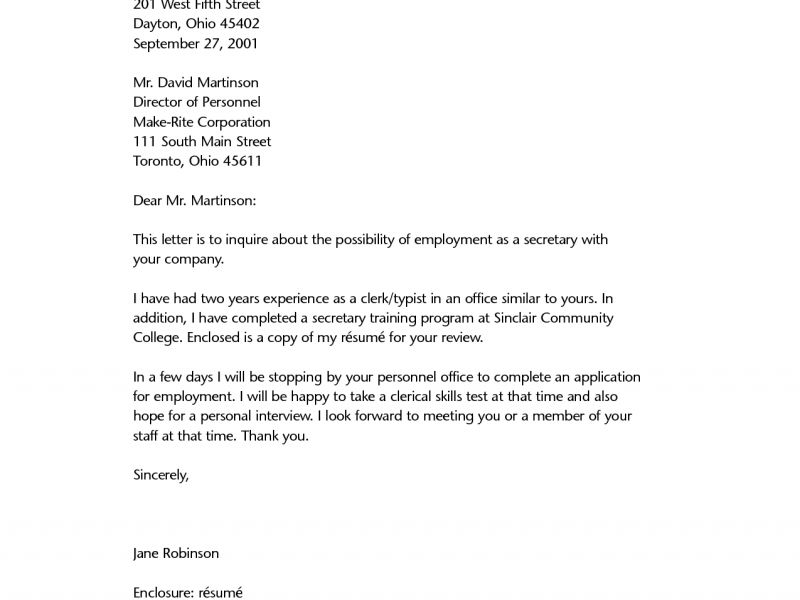 Wondrous Resume Letter 11 Resume Application Letter - Resume Example