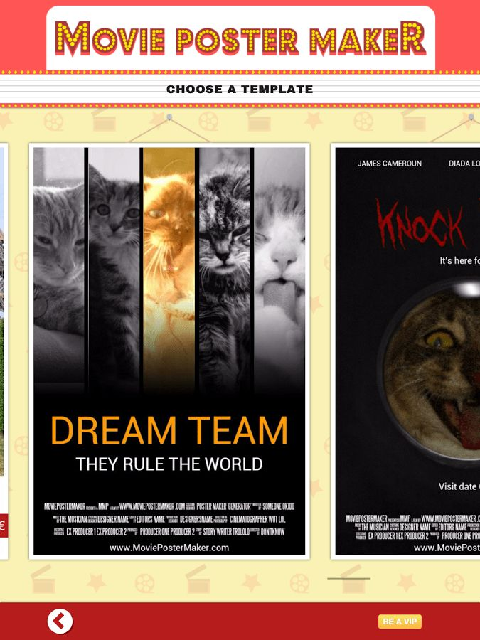 Movie Poster Maker & Template - Android Apps on Google Play