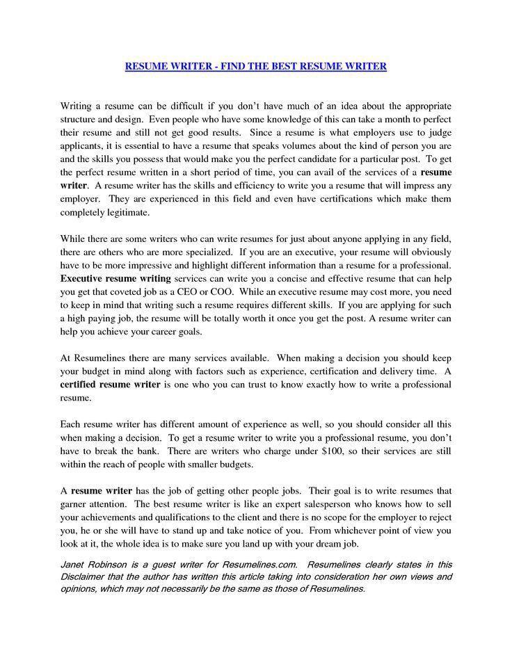 Best 20+ Resume cover letter examples ideas on Pinterest | Cover ...