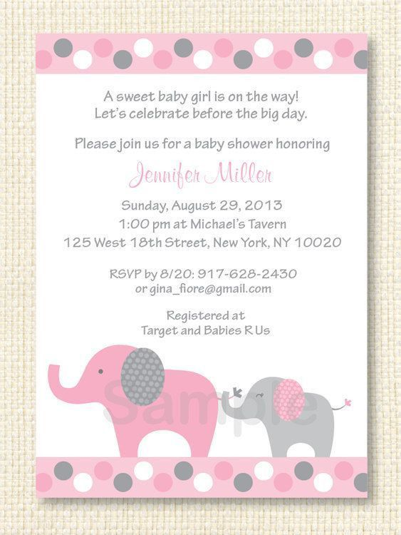 Baby Shower Invite Samples | THERUNTIME.COM