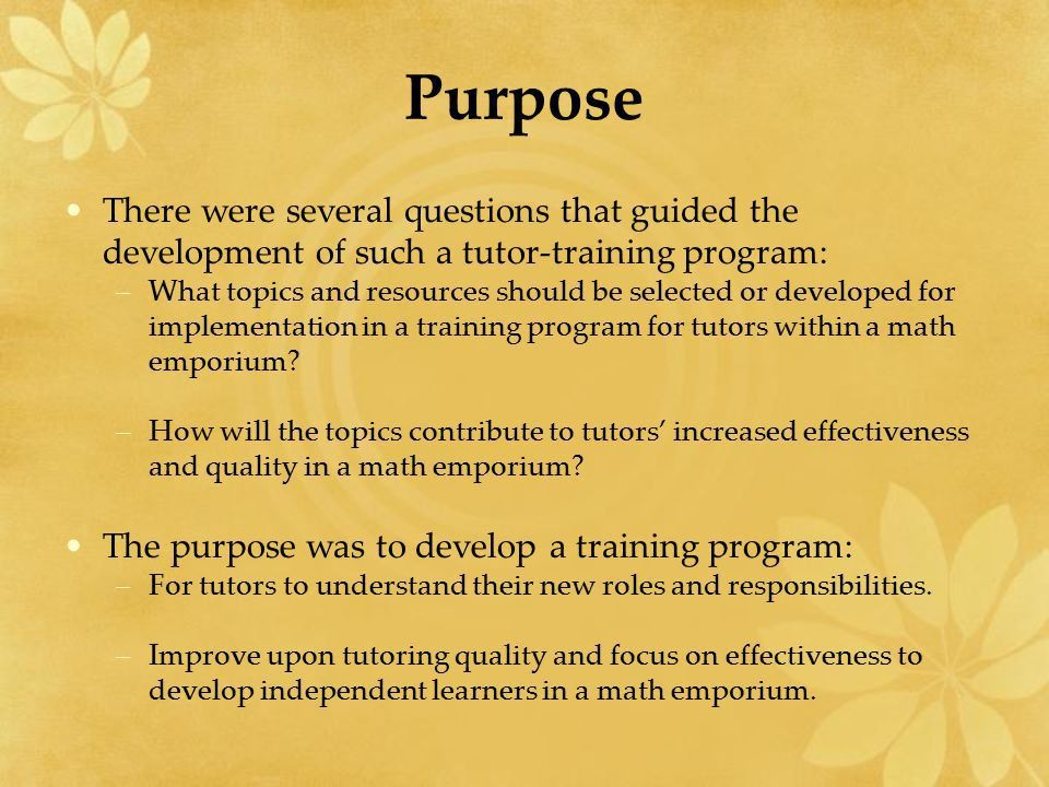 Integrating Effective Tutors within a Math Emporium - ppt video ...