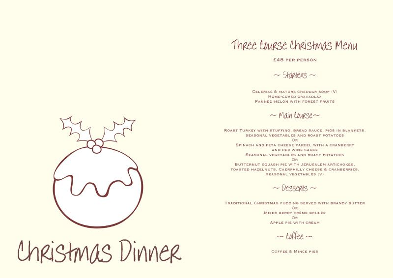 28+ [ Free Christmas Dinner Menu Template ] | Dinner Menu Template ...