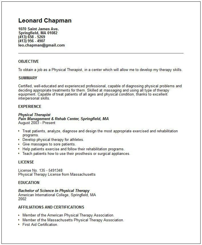 physiotherapist cv sample. art therapist resume uk sales therapist ...