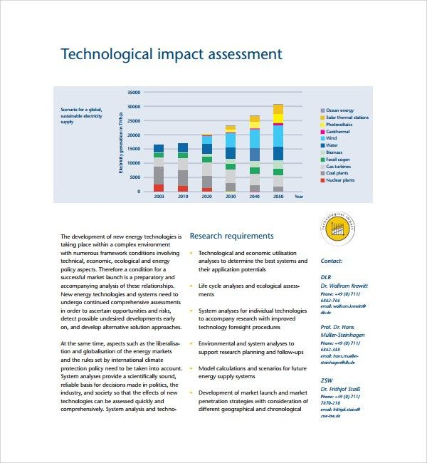 Sample Technical Assessment Template - 9+ Free Documents in PDF, Word