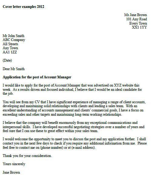 email cover letter example. writing a speculative cover letter uk ...