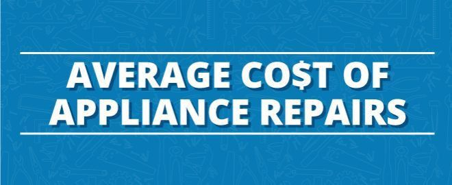 How Much Should Appliance Repairs Cost?   Sears Home Services