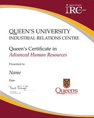 Human Resources Training | Queen's University IRC