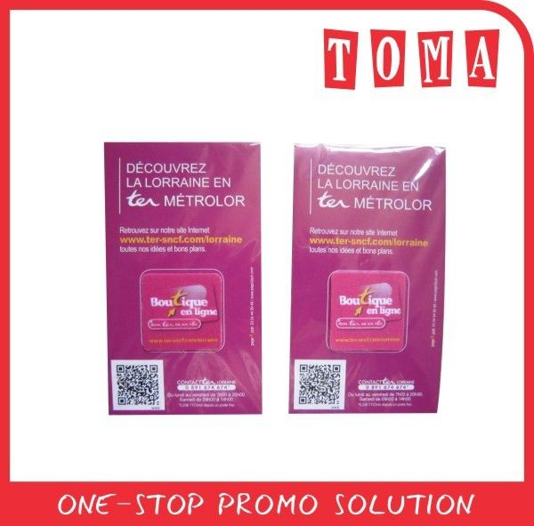 Microfiber Screen Cleaner With Business Card, Microfiber Screen ...