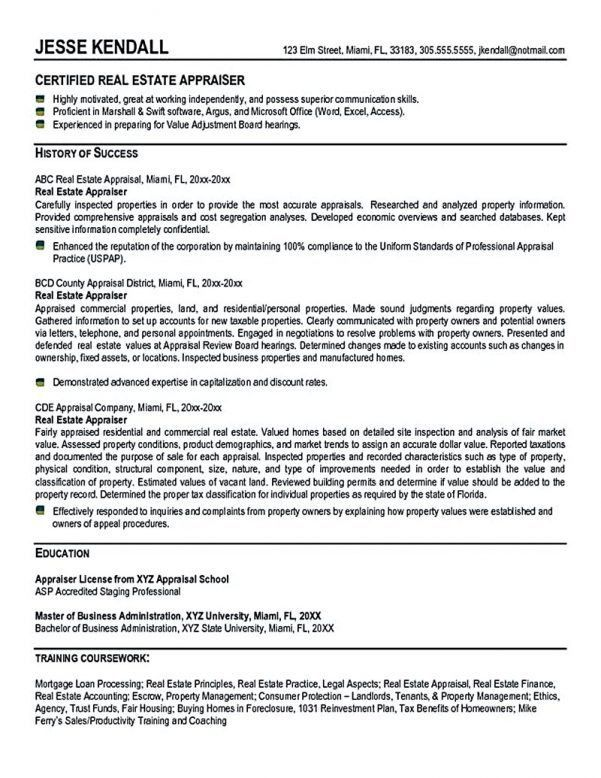 real estate agent resume free resume builder resume builder ...