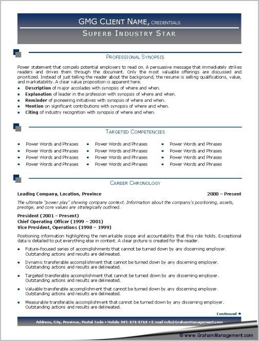 resume samples types of resume formats examples and templates ...