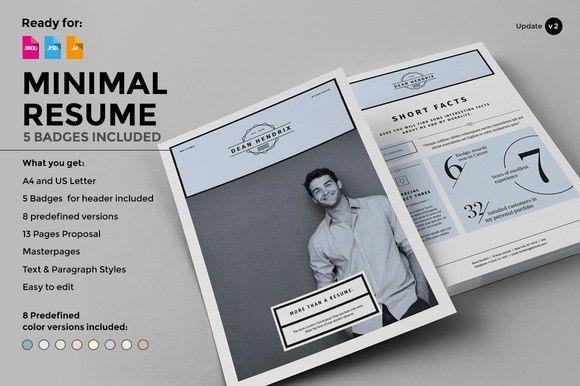 30 awesome psd portfolio and resume templates 85ideas - Resume Portfolio Template