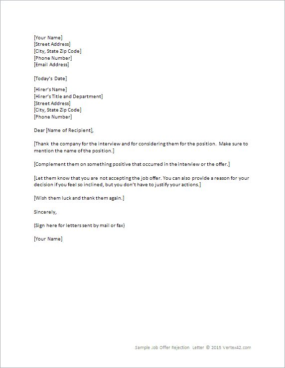 Job Offer Retraction Letter Sample | How To Write A Resume Malaysia