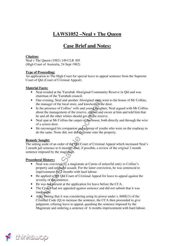 Legal Brief Template Word | The Best Letter Sample