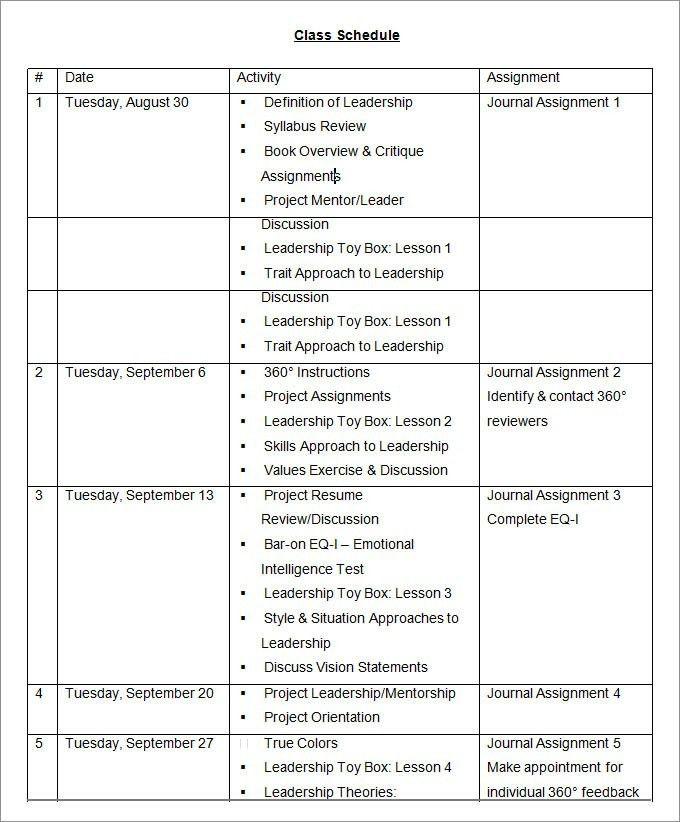 Leadership Development Plan Template - Business Plan Template