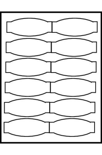 Avery® Big Tab™ Ultralast Plastic Dividers 5-Tab - 24914 - Template