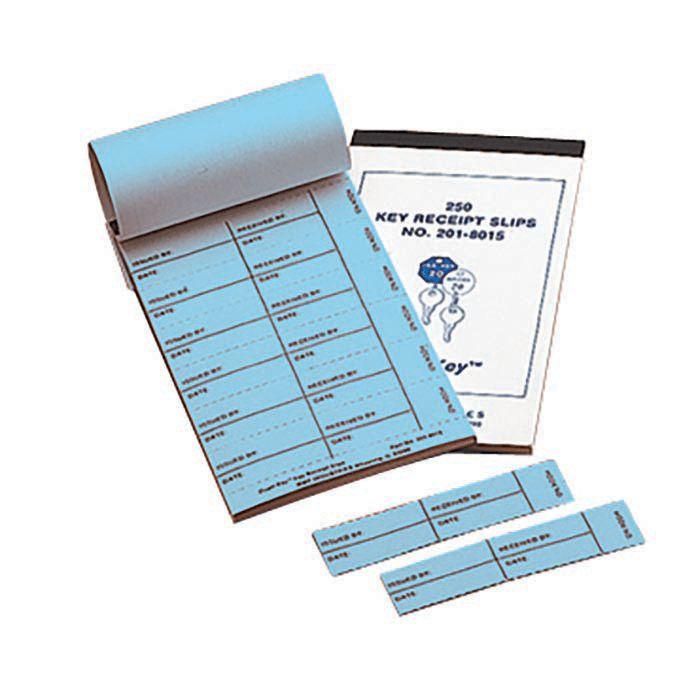 Key Receipt Slips, 250 Pack | MMF Industries