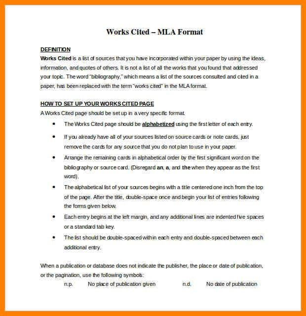 2+ mla 8 format citation example | resume emails