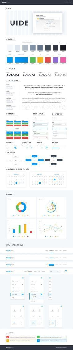 FREE BRAND STYLE GUIDE TEMPLATE | Brand style guide, Free and ...