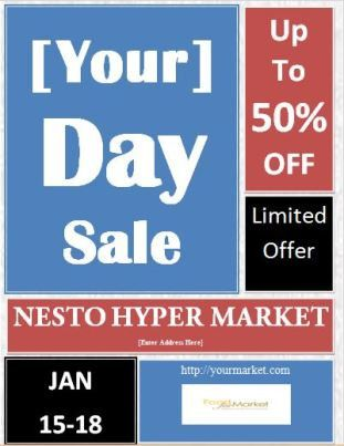 6 Best Sales Flyer Templates   Free Microsoft Word Templates ...